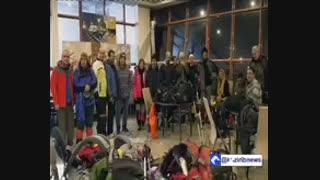 نجات کوهنوردان گرفتار در قله ی شیرباد
