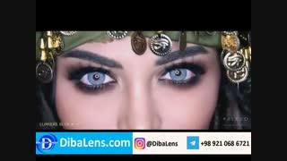 لنز دهب- لومیر بلو | DibaLens.com-DHAB Lumiere Blue
