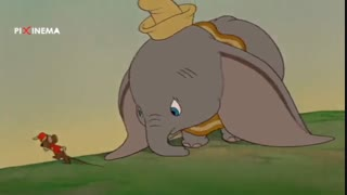 سکانس دامبوی تاریخ ساز در فیلم دامبو(Dumbo,1941)