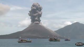 فورانهای شگفت انگیز آتشفشان 1
