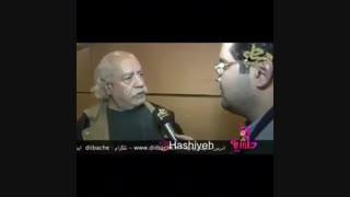 رفتار زشت با بهزاد فراهانی در جشنواره فجر 95