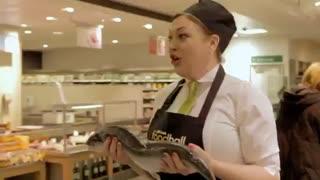 اجرای اپرای غیرمنتظره در فروشگاهی در لندن