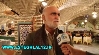 گفتگوی کاظم اولیایی در حاشیه زادروز منصور پورحیدری