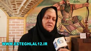 گفتگوی دکتر فریده شجاعی همسر به سوگ نشسته منصور پورحیدری فقید