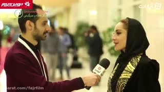 مصاحبه با ترلان پروانه در حاشیه جشنواره فیلم فجر