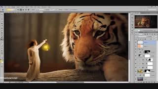 آموزش تکنیک مت پینتینگ Photoshop برای ایجاد تصاویر زیبا و خلاقانه - Matte Painting