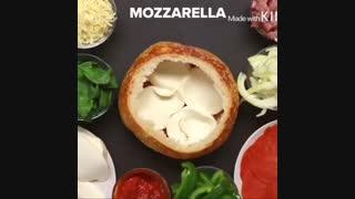 طرز تهیه یه پیتزا خوشمزه ( پلی شود )