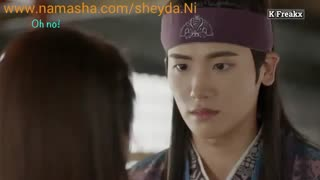 هوارانگ میکس لحظات خنده دار Hwarang_ Funny Moments between  Ah_ro (Go Ara) &  Sam maek jong(park Hyung _Sik )