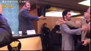 فیلم جنجال در نشست خبری فیلم قاتل اهلی جشنواره فیلم فجر 95