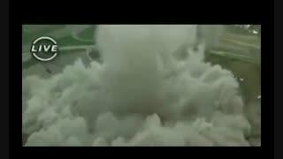 تخریب ساختمانهای بلند دنیا