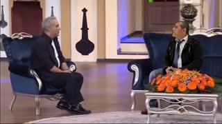 کلیپ خنده دار علی غلامی در برنامه دورهمی مهران مدیری