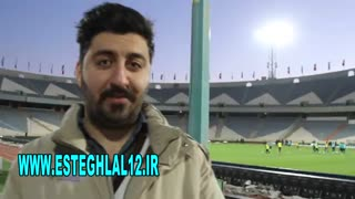 پیش بینی نتیجه بازی استقلال -السد توسط هواداران