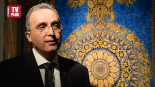 بزرگترین تاجران ایران، نفیس ترین فرش هایشان را به نمایش گذاشتند/ویدیوی از نمایشگاه فرش  تیمچه در خیابان فرشته تهران