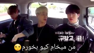 Got7 _funny Jackson  تَه خندهههه XD (جکسون vs نارنگی) +ساب فارسی  ^^