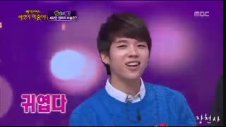 130303 Woohyun singing Special Girl after inhale …: