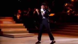 اولین اجرای  Bilie  jean   توسط مایکل جکسون -در 25 موتان
