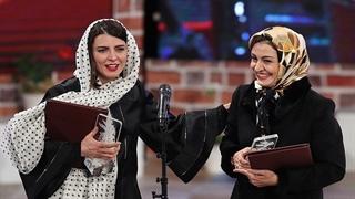 سیمرغ بهترین بازیگر نقش اول زن : لیلا حاتمی و مریلا زارعی