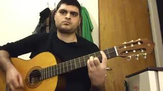 ستاره از حمید عسکری با گیتار
