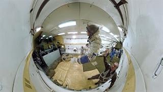ویدیو 360 درجه : تمرین جاذبه صفر ویژه فضانوردان