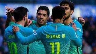 خلاصه بازی:  آلاوز  0 - 6  بارسلونا