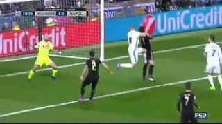 خلاصه بازی:  رئال مادرید  3 - 1 ناپولی