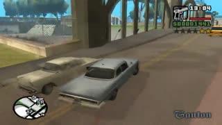 گیم پلی بازی GTA San Andreas