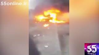 تصاویر اولیه +18 از انفجار بمب در بغداد