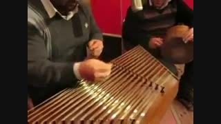 اجرای بسیار زیبای بداهه نوازی استاد علی نوری