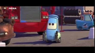 سکانس مسابقه آخر در فیلم ماشین ها(Cars,2006)