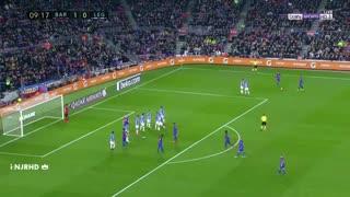 هایلایت حرکات لیونل مسی مقابل لگانس ( بازی خانگی )