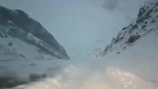 مسیر پیست اسکی شیرباد دولت آباد