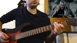 موسیقی متن سریال Vikings با گیتار