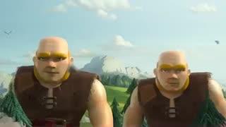 تریلر رسمی بازی Clash of Clans