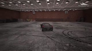 Car drift simulation