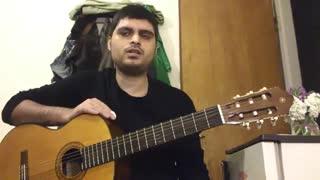 آموزش آهنگ بازی از والایار با گیتار