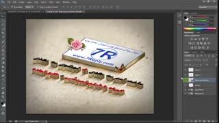 آموزش ساخت اسم سه بعدی + عکس سه بعدی