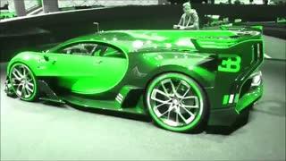 تغییر رنگ ماشین افسانه ای بوگاتی!!!