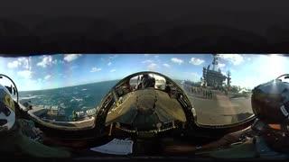 فیلم360 درجه راه اندازی F/A-18سوپر هورنت