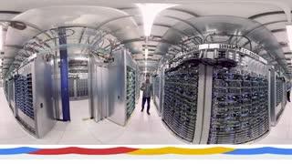 فیلم 360 درجه از دیتا سنتر گوگل