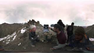 فیلم 360 درجه از پلنگ برفی