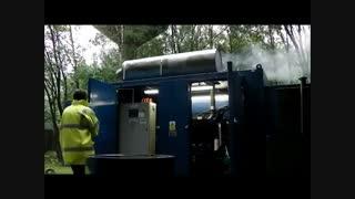 دیزل ژنراتور-مولد گاز سوز