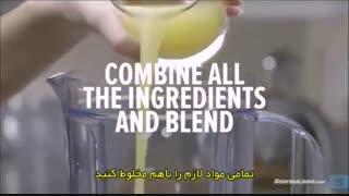 آشپزی ورزشی - شیک پروتئین آناناس، موز و توت فرنگی